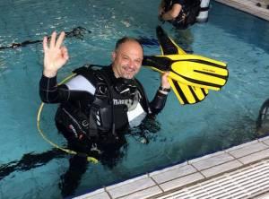 Tony, duikinstructeur bij ScubaXP