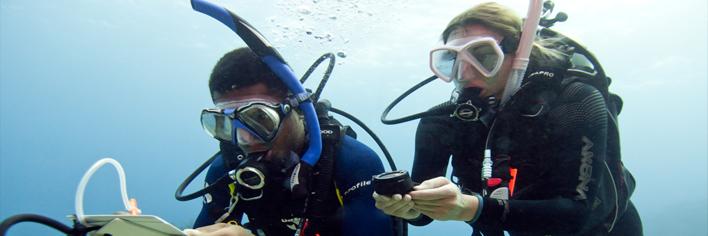 Leer navigeren tijdens de Advanced open water of navigatie specialty