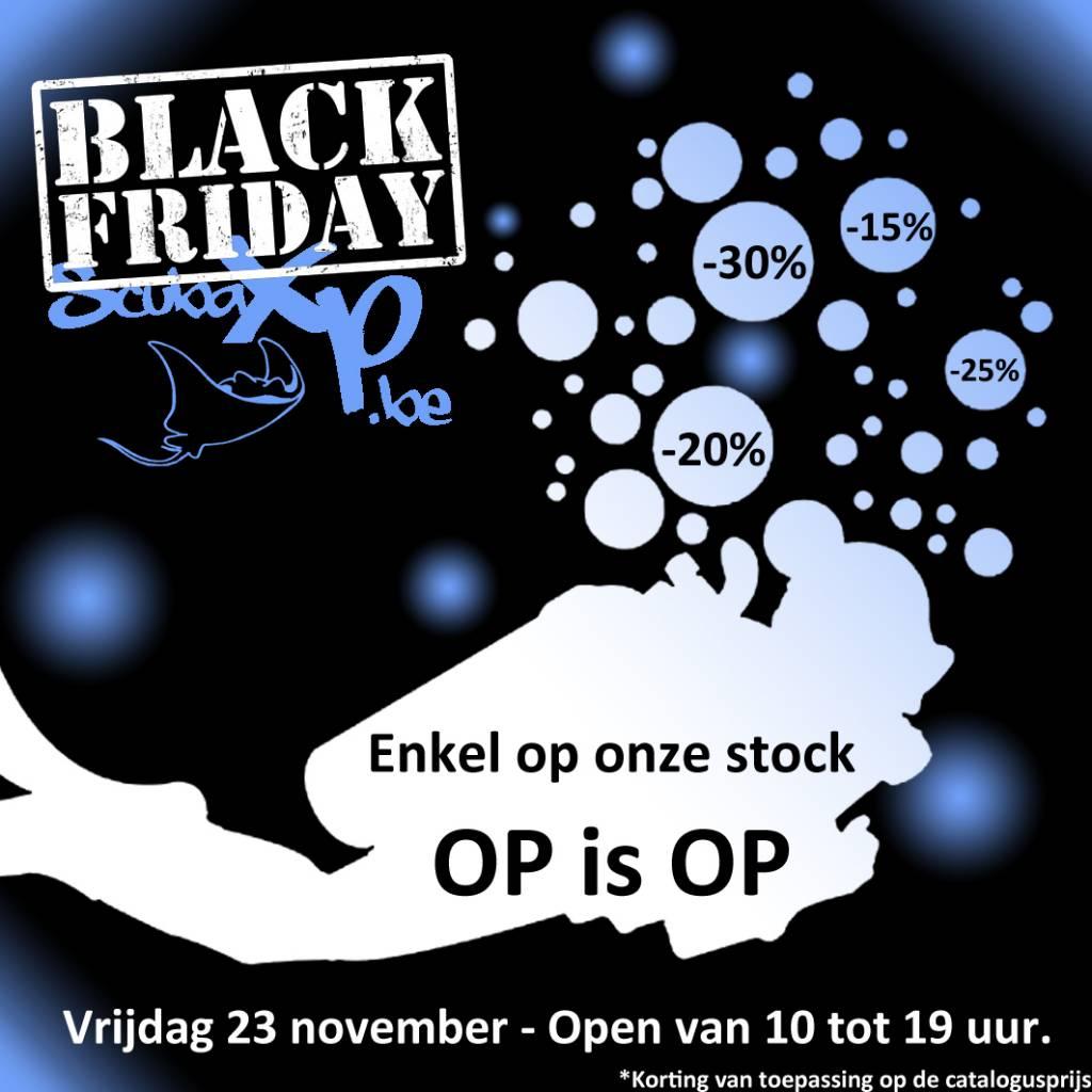 Black Friday bij ScubaXP