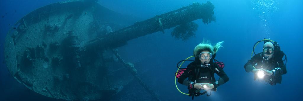 ScubaXP Specialty Wrakduiken - Wreck diver