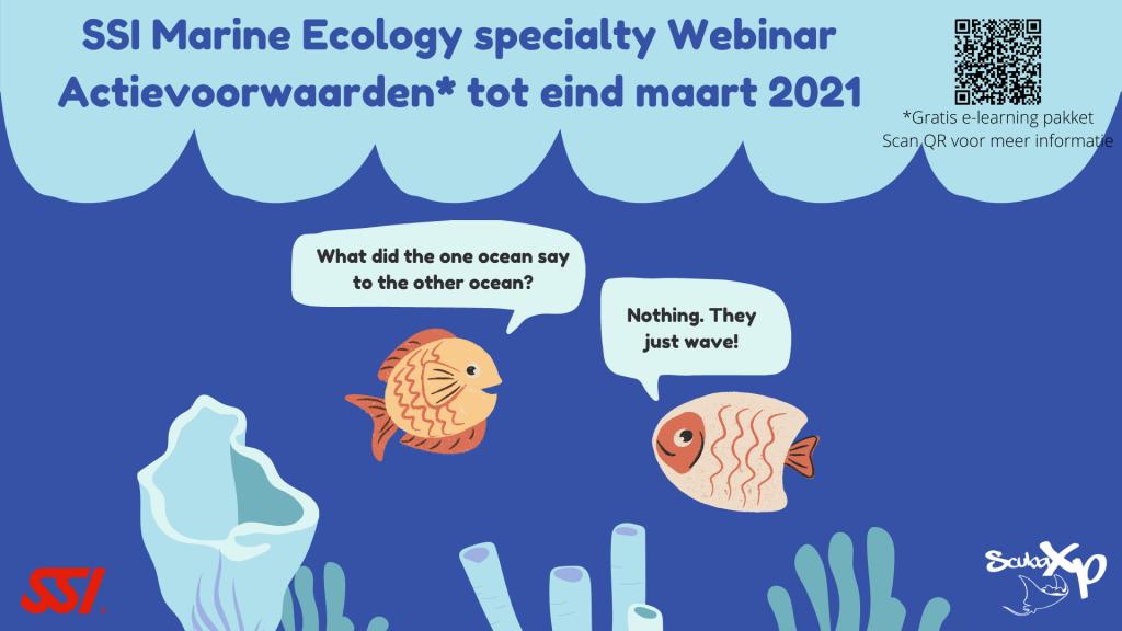ScubaXP SSI Marine Ecology webinar